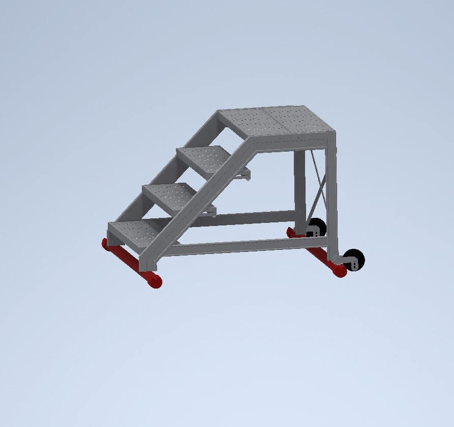 Maintenance walk-through ladders without handrails - Suomi-Tikas Oy