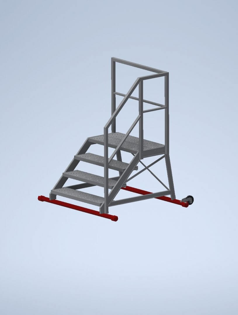 Maintenance ladders with handrails - Suomi-Tikas Oy
