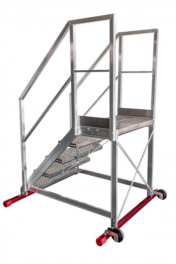 Maintenance walk-through ladders with handrails - Suomi-Tikas Oy