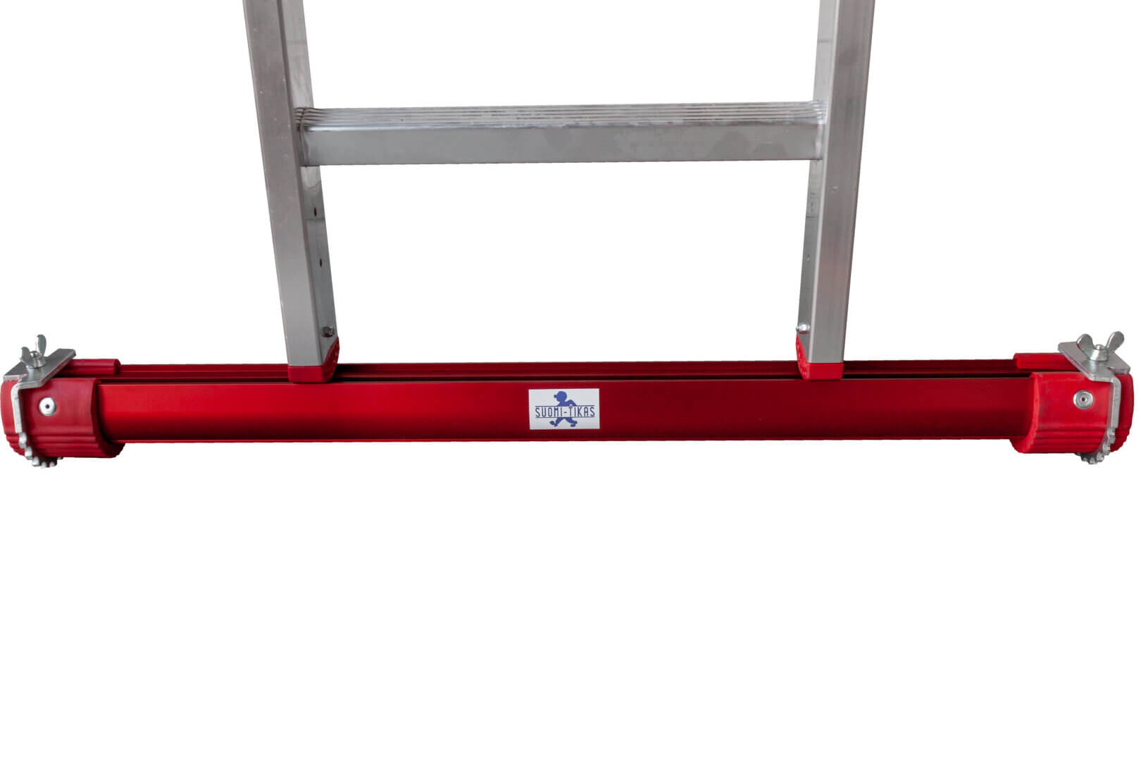 Swivel spikes for lower bars on level ladders - Suomi-Tikas Oy