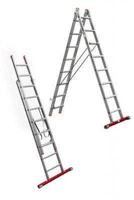 2-part combination ladders