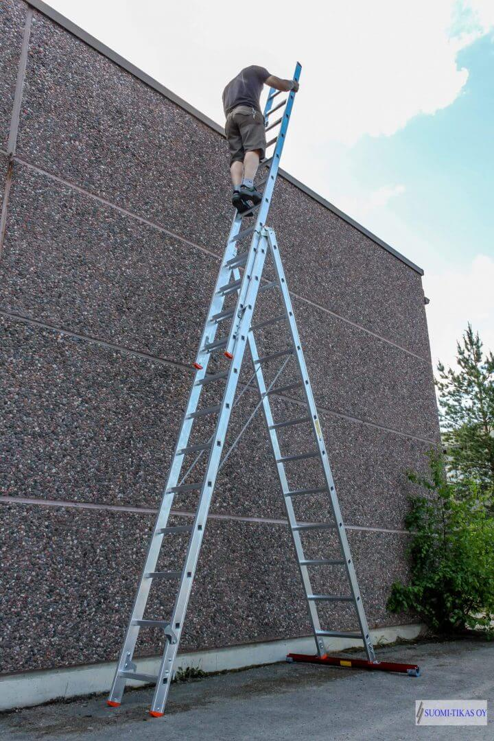 3-part combination ladders - Suomi-Tikas Oy