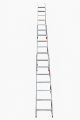 3-part extension ladders