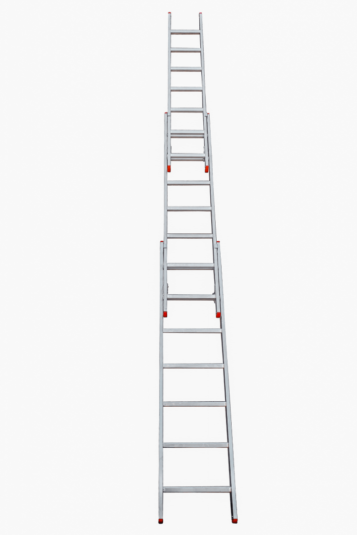 3-part extension ladders - Suomi-Tikas Oy